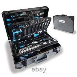 Wzg Werkzeug 102 Piece Hand Tool Set Mechanics Kit With Aluminium Case Y Compris