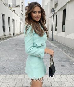 Zara Bloggers Favoris Blazer & Jupe Co Ord Matching Set Outfit Taille M Bnwt
