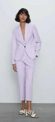 Zara Spring Outfit Coordonné Blazer Trausers Taille M